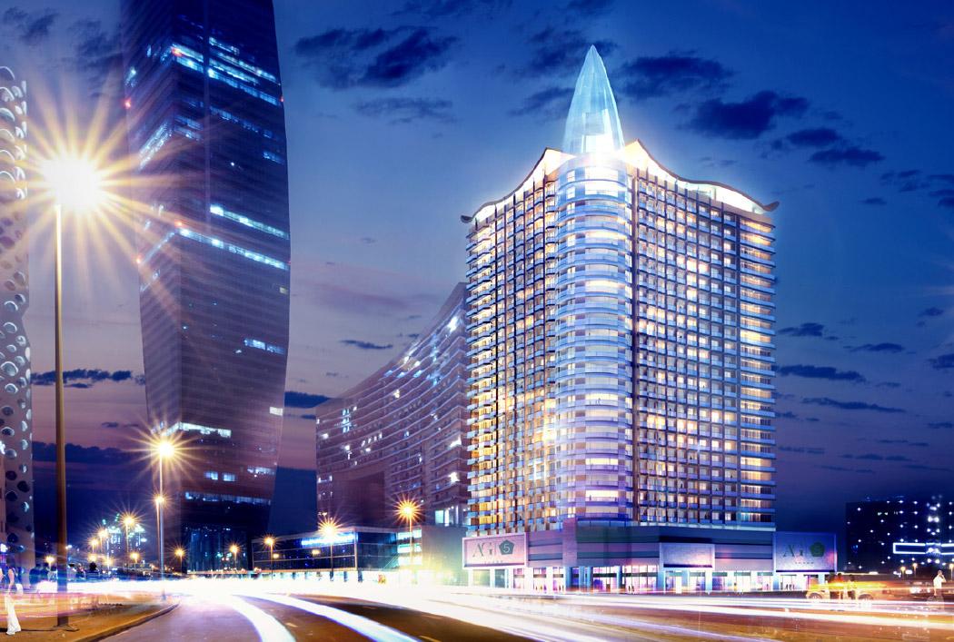 برج دبي منطقة البيزنس باي – برج خليفة